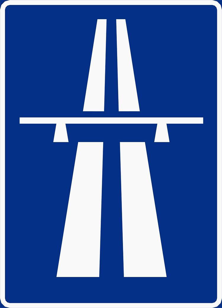 Motortrafikkvei skilt